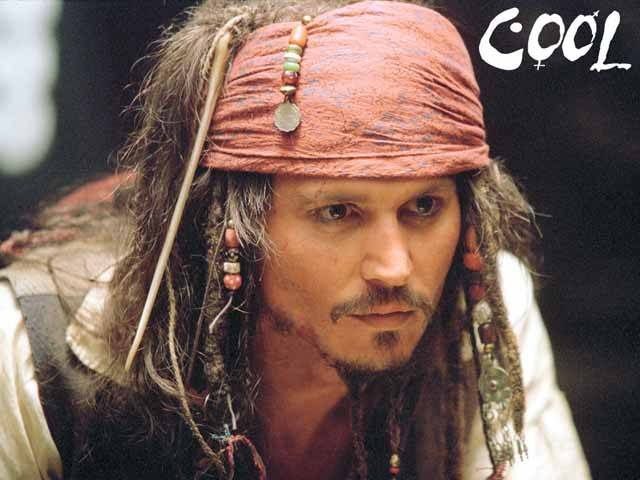 Johnny Depp Fashion Icon - He Knows how to dress - Pirates of the caribean