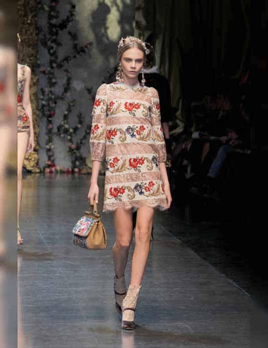 Dolce & Gabbana 2013 Catwalk Runway Gracie Opulanza