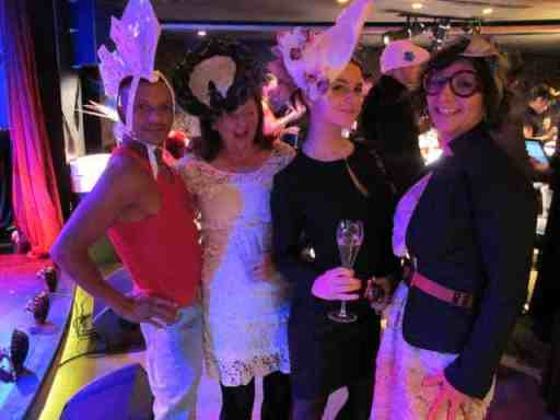 milliner, lovehats launch party - Gracie Opulanza