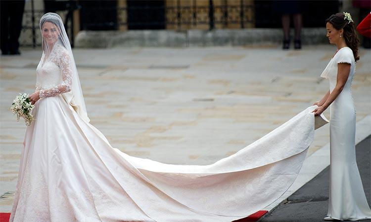 Kate Middleton Wedding Dress Grace kelly
