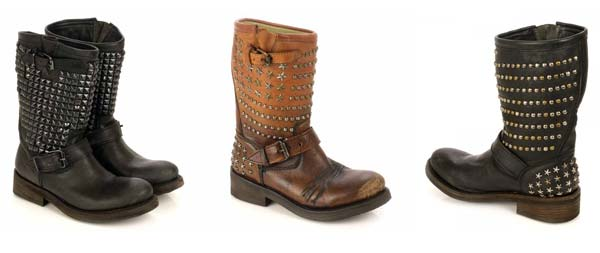 ASH Footwear – Leather and Studs Boots