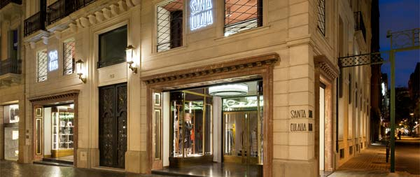 santa eulalia barcelona - store front