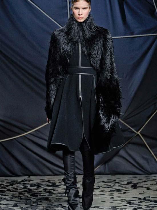 Gareth Pugh Fall Winter 2013 Collection Leather