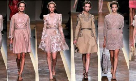 Valentino – Lace,Green and Chic Glamour 2013