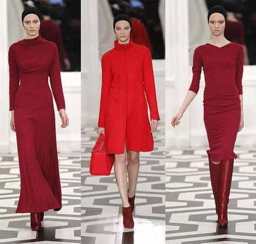 Victoria Beckham Fall Winter Fashion, plus size women dresses