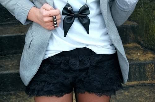 bow ties fashion for women