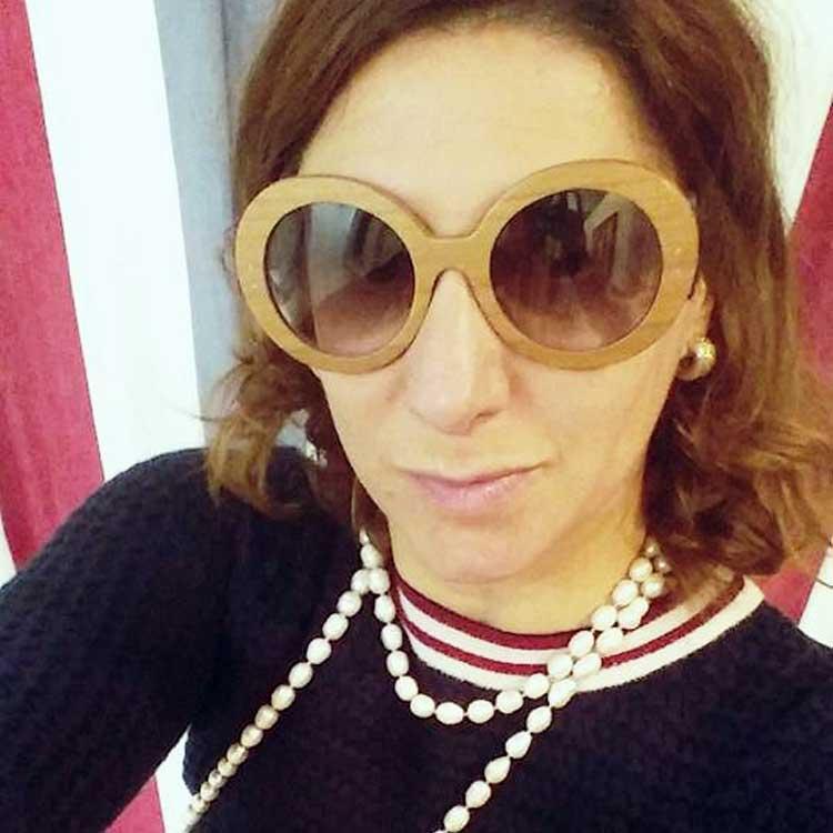 Gracie-Opulanza-Prada-Eyewear-Baroque-2015-sunglasses.-Berlin.-wood