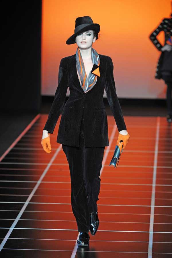 Giorgio Armani Velvet Suit 2012