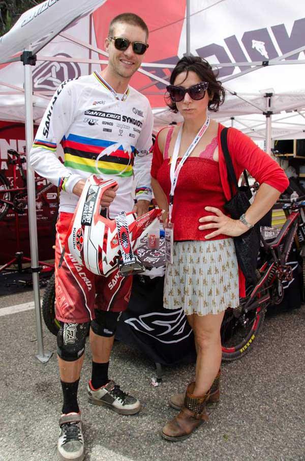 Greg Minnaar - 6 time mountain bike world champion