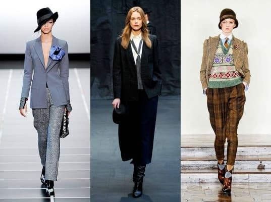 womens suits on the fall 2012