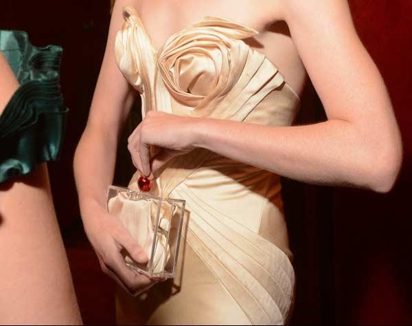 metropolitan opera gala - cream dress