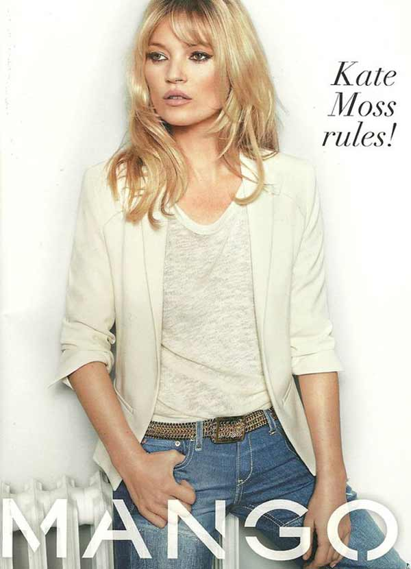 Kate Moss for MANGO