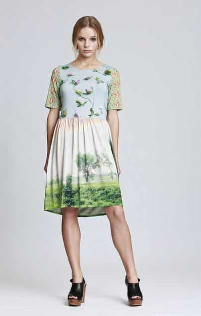 QooQoo Botanika Florabioyika dress