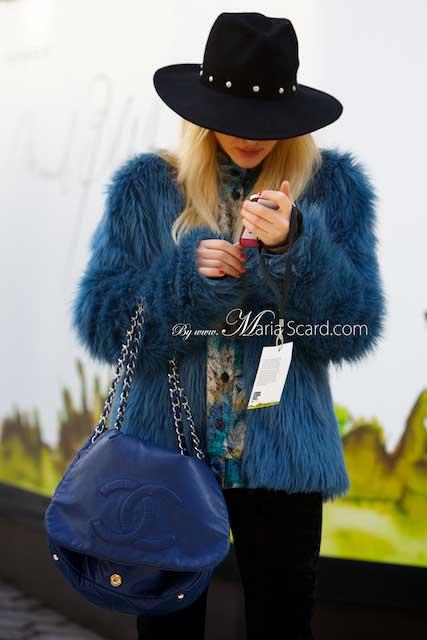 London Fashion Week - Mink, Fake Fox Colour Fur