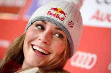 Lindsey Vonn with Hat