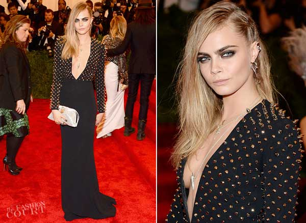 Cara Delevingne- female model 2013 met ball