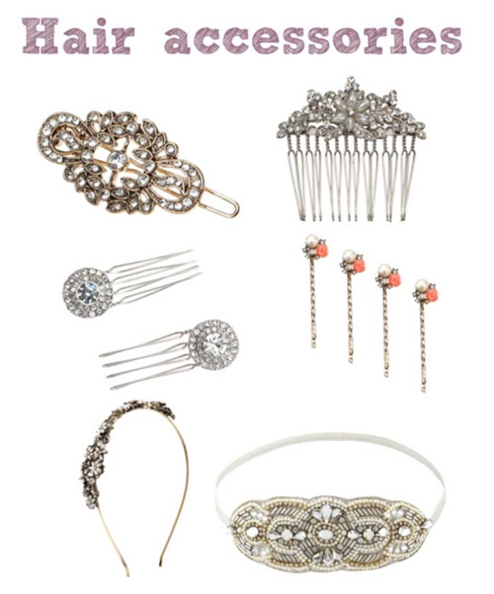 Great Gatsby Accessories from Accessorize hair