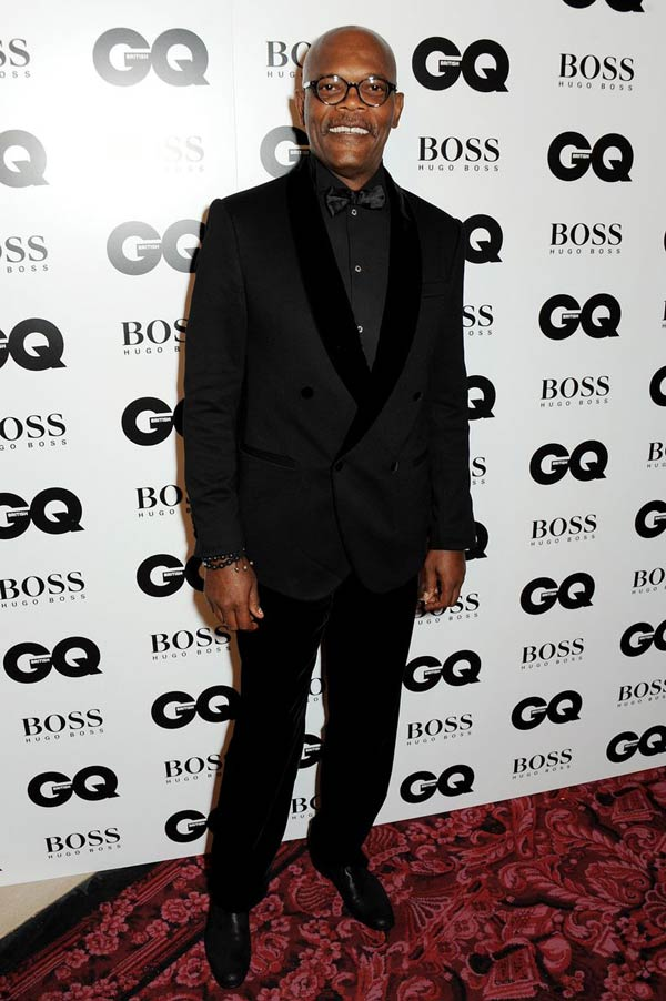 Samuel Jackson-GQ Men Of The Year Awards 2013