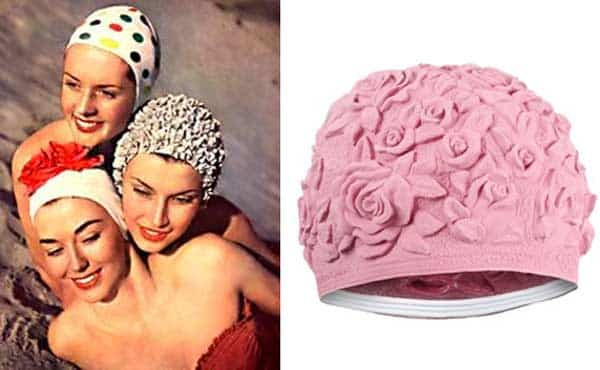 Swim Cap - Vintage Pink