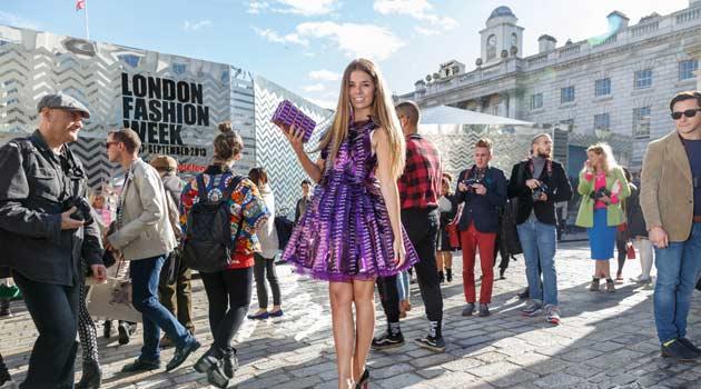 Cadbury Dress – Made Of Dairy Milk Wrappers