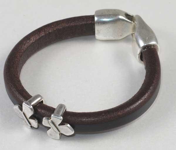 jewellery - Brown Leather bracelet