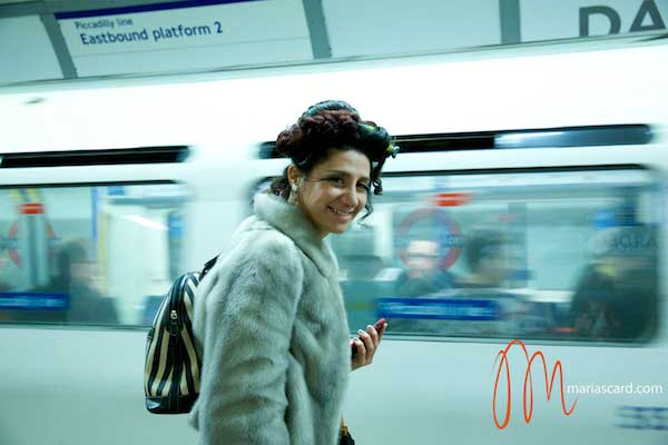 Gracie opulanza in the wild with Peacock Feather Eyelashes