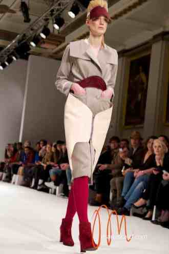 Marina Hoermanseder London Fashion Week Leather & Buckle Collection