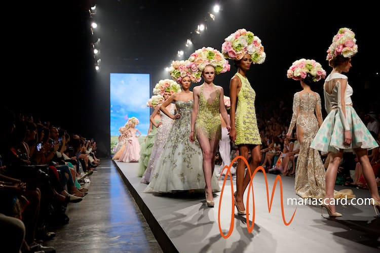 Dubai Fashion Forward 2014 – Rami Kadi Dresses That Smile