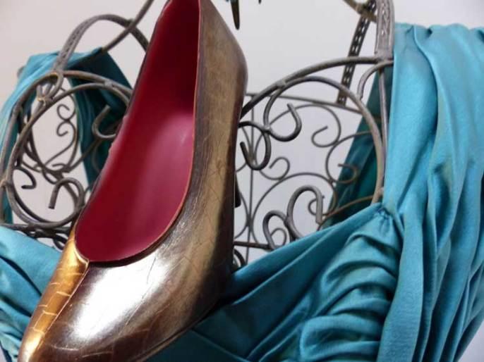 Azra Chocolate Shoes