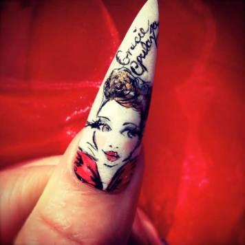Gracie Opulanza - Nail Art