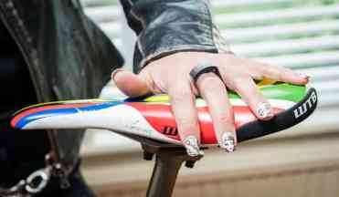 Santa Cruz Cycles - bespoke nails Dana Taylor