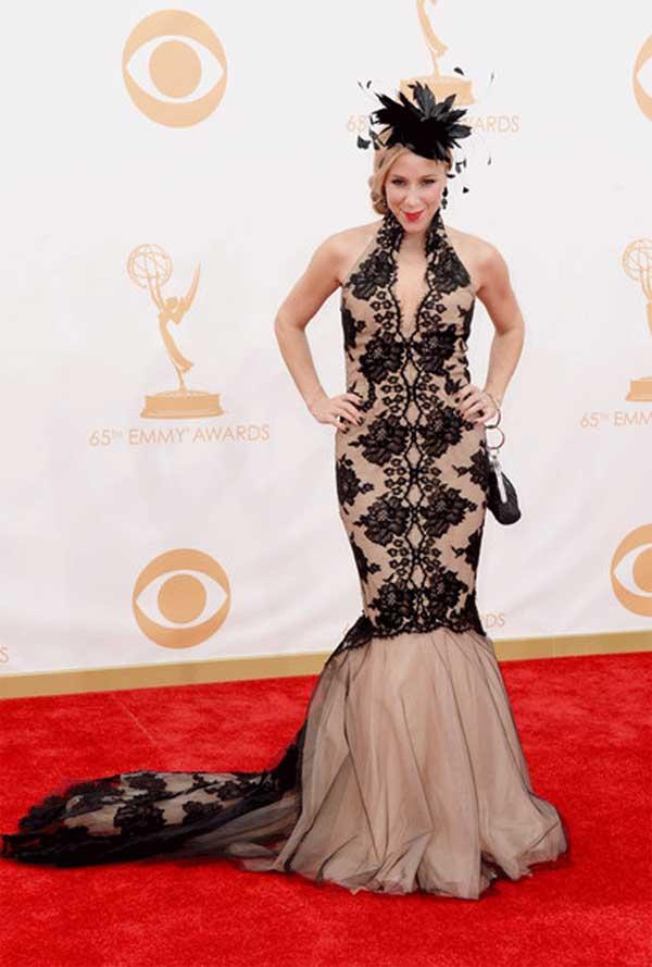 Becky-Baeling-Lythgoe-@-Emmy-Awards-2013