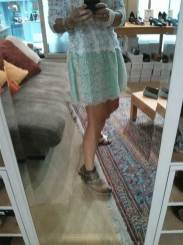 Selfie-trying-some-shoes-in-holland