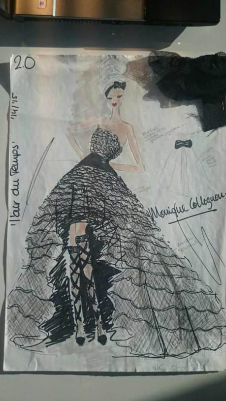 Becky Baeling Lythgoe Monique Collignon Haute Couture Oscars-2015-(8)