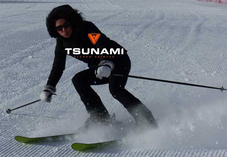 Tsunami SkiWear – Sporty Couture On The Slopes
