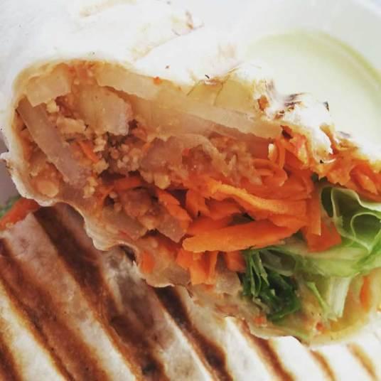 vegetable-wrap