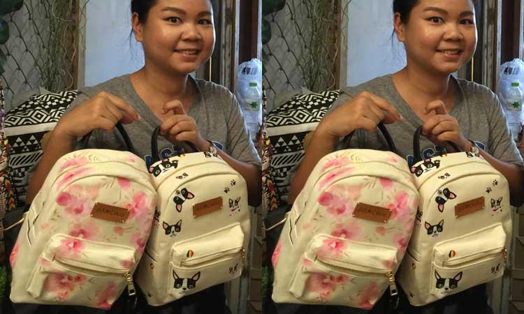 Oomchoo - Bespoke Backpack Bangkok 2015 Gracie Opulanza