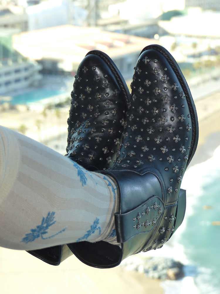Sendra handmade cowboy boots gracie opulanza WBarcelona Hotel 2016 (2)