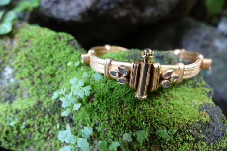 Handbag metal jewlery Bali Gracie Opulanza brass silver gold copper (3)