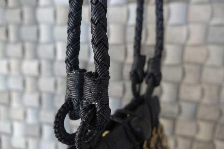 Bali coin metal bespoke fabric purse bag gracie opulanza (4)