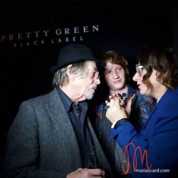 Sir John Hurt & Nick Hurt - Interview 2015