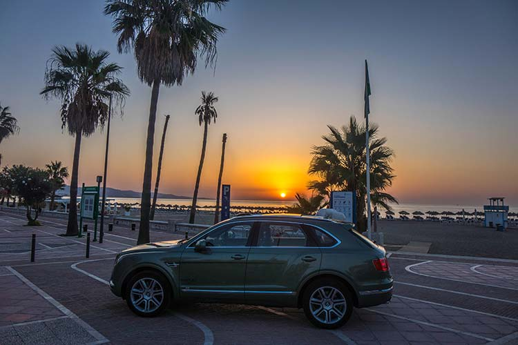 Bentley Bentayga Marbella Spain