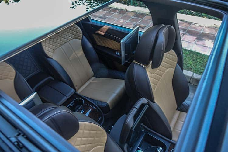 Bentley Bentayga Interior