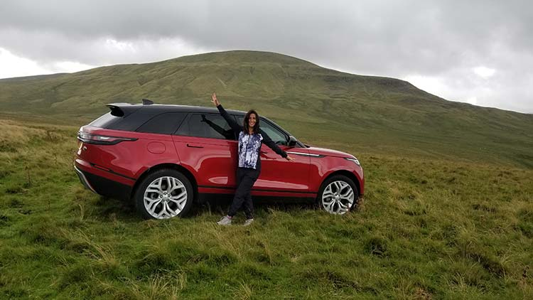Gracie opulanza Range Rover Velar