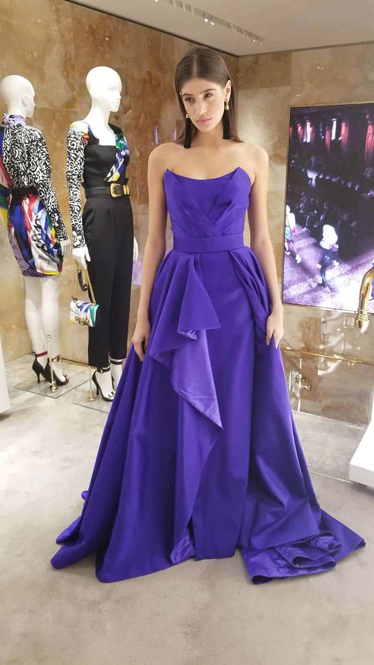 Versace Catwalk London - Vintage Haute Couture Dresses