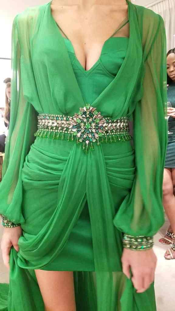 Versace Vintage dress green