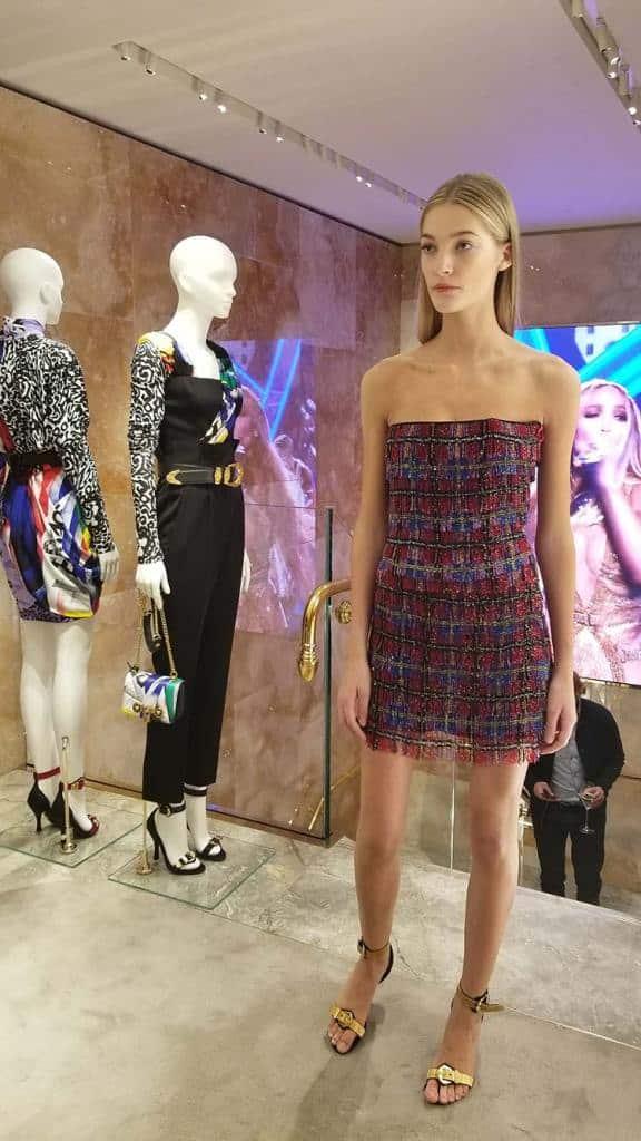 Versace Vintage dress tweed