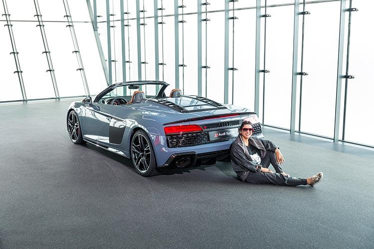 Audi R8 V10 Performance Quattro. Gracie Opulanza Audi Sport