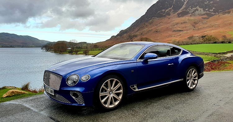 Lake District Bentley GT Continental