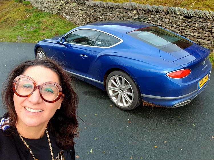 Bentley GT cardigan Gracie Opulanza
